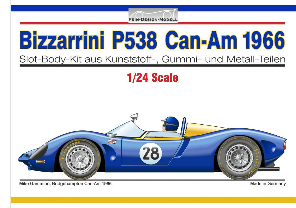 Bizzarrini P538 Can-Am Deckel-Illu
