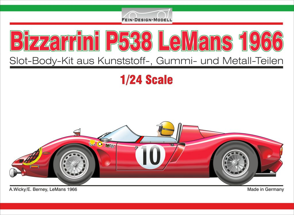 Bizzarrini P538 LeMans Deckel-Illu